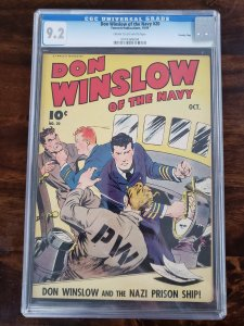 Don Winslow of the Navy 20 CGC 9.2 Crowley Pedigree (Old Pedigree label)