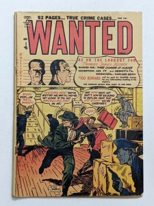 Wanted #38 (Jun 1951, Orbit) VG- 3.5 Syd Shores cover