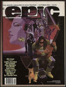 EPIC 8(10/81) VF-NM CHAYKIN CVR,SUYDAM,WHEATLY,ROBBINS, COMICS BOOK