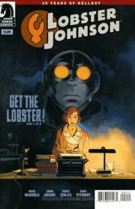 Lobster Johnson: Get the Lobster #2 VF/NM; Dark Horse | save on shipping - detai