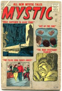 Mystic #55 1957- Atlas Silver Age Horror Sci-fi Don Heck G/VG