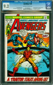 Avengers #106 CGC Graded 9.2 Second appearance of Space Phantom, last appeare...