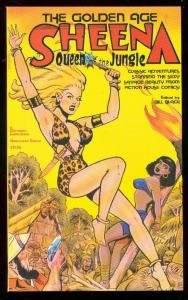 GOLDEN AGE-SHEENA QUEEN OF  JUNGLE- TPB-FICTION HOUSE VF