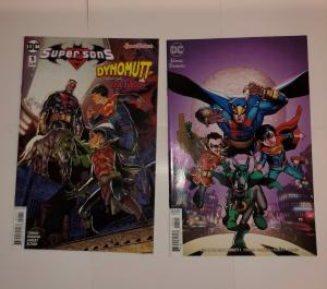 Super Sons / Dynomutt #1 & Variant