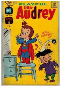 PLAYFUL LITTLE AUDREY (1957-1976) 69 GD- April 1967
