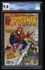 Amazing Spider-Man (1999) #13 CGC NM/M 9.8 White Pages