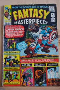 Fantasy Masterpieces #4, Early Jack Kirby, Stan Lee