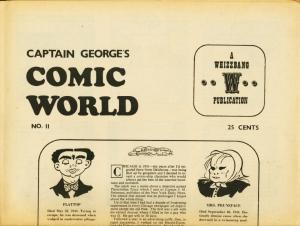 CAPTAIN GEORGES COMIC WORLD-REPRINTS-#11-DICK TRACY FN