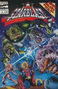 Starblast #1 FN; Marvel | save on shipping - details inside