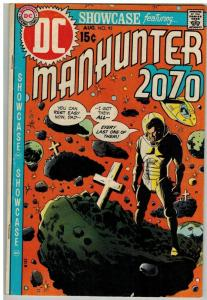 SHOWCASE 92 VG-F Aug. 1970 MANHUNTER 2070