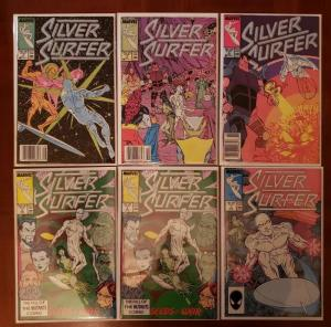 SILVER SURFER 3, 4, 5, 6, 7, 8, 10, 11, 12, 13, 14, 15, 16 (1987) MARVEL