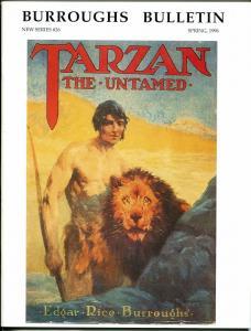 Burroughs Bulletin New Series #26 1996-ERB-Tarzan-J Allen St John-Vallejo-VF