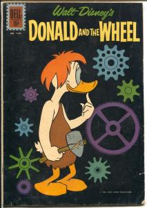 Donald Duck-Donald and The Wheel-Four Color Comics #1190 1961-Dell-Carl Barks-VG