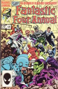 Fantastic Four (1961 series) Annual #18, VG (Stock photo)