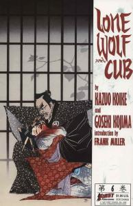 Lone Wolf and Cub #6 VF; First | save on shipping - details inside