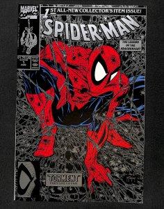 Spider-Man #1 Silver Variant McFarlane