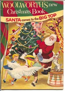 Woolworth's New Christmas Book 1954-Santa & Big Top-comics-toy ads-VF-