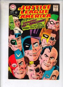 Justice League of America #61 (Mar-68) FN/VF Mid-High-Grade Justice League of...