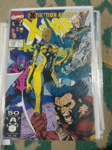 UNCANNY X-MEN #272 1991 MARVEL  X-TINCTION AGENDA PT 7  JIM LEE CABLE WOLVERINE