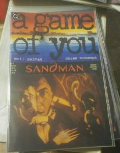 SANDMAN # 32  1991 DC COMICS NEIL GAIMAN   A GAME OF YOU PT 1+ DOLLS HOUSE