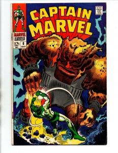 Captain Marvel #6 - Don Heck - 1969 - FN/VF