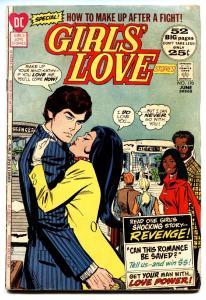 GIRLS' LOVE STORIES #170 comic book 1972-ROMANCE-Black LOVE STORY
