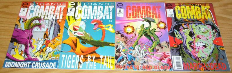 Strange Combat Tales #1-4 VF/NM complete series for fans of weird war tales