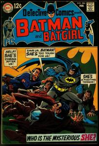 Detective Comics #384 1969- Batman Robin Bat-girl Gil Kane VF