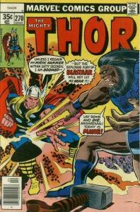 Thor (1966 series) #270, NM- (Stock photo)
