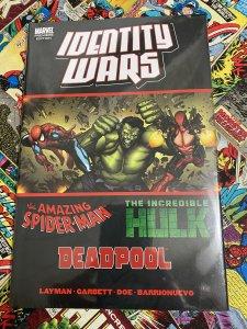 Spider-Man/Hulk/Deadpool: Identity Wars #1 (2011) Factory Sealed Hardcover