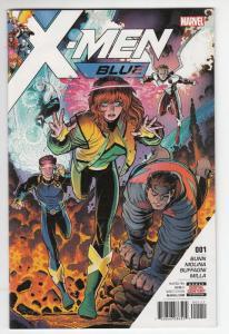 X-MEN BLUE (2017 MARVEL) #1