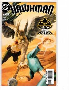 Hawkman (2002) #24 NM- (9.2) Justice Society