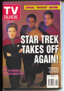 TV Guide 6/14/1995-Star Trek-Special Voyager Edition-Kate Mulgrew-Tim Russ-VF