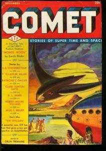 COMET 1940 DEC-#1-RARE SCI-FI PULP FN/VF