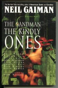 Sandman: The Kindly Ones-Neil Gaiman-Vol 9-1996-PB-VG/FN
