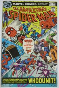 AMAZING SPIDER-MAN  #155 (Marvel,4/1976) VERY GOOD PLUS(VG+)! Wein & Sal Buscema