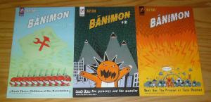 Banimon #1-3 VF/NM complete series - scientist in a post-apocalypse world set 2