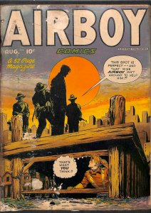 Airboy Comics #0 Back Cover Nearly Detached