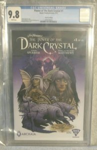 Power Of The Dark Crystal #1 CBCS 9.8 Fried Pie Variant White Pages