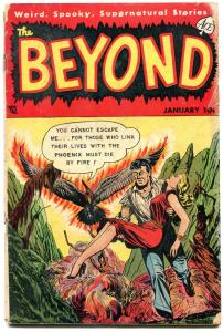 Beyond #18 1953-Golden Age Horror- Dismemberment G