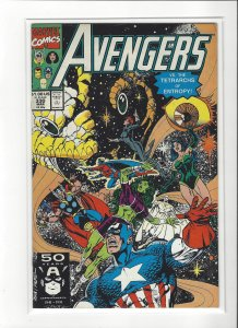 The Avenger (Vol 1) #330 New Team vs Entropy Marvel Comic NM
