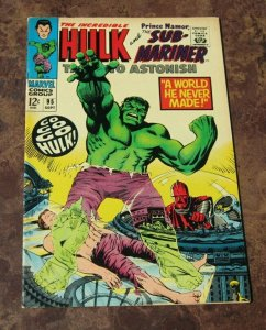 Tales To Astonish #95 FN/VF Marvel Silver Age Comic Sub-Mariner Incredible Hulk