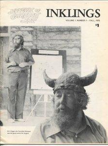Inklings #1 1975-1st issue-Dik Browne-Museum of Comic Art-illustrations-FN