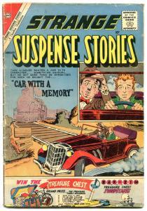 Strange Suspense Stories #51 1961- Ditko art & cover- Charlton VG-