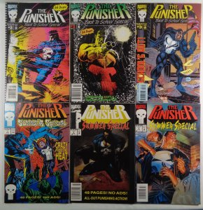 Punisher Back To School/Summer Specials #1 #2 #3 Complete Series Marvel 1991