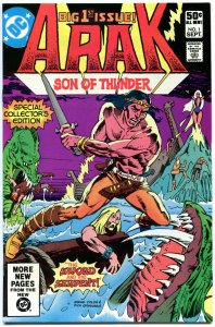 ARAK Son of THUNDER #1 2 3 4 5 6 7-50 + Annual #1, VF/NM, 1981, DC, Roy Thomas