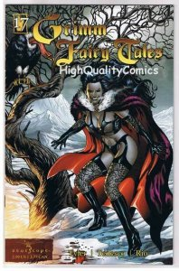GRIMM FAIRY TALES 17, NM-, Good Girl Femme Fatale, Al Rio, Juniper Tree