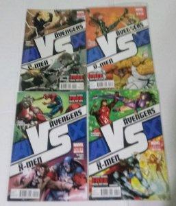 Avengers vs X-Men Comic Book Lot of (4) High Grade Copies  CL70/02