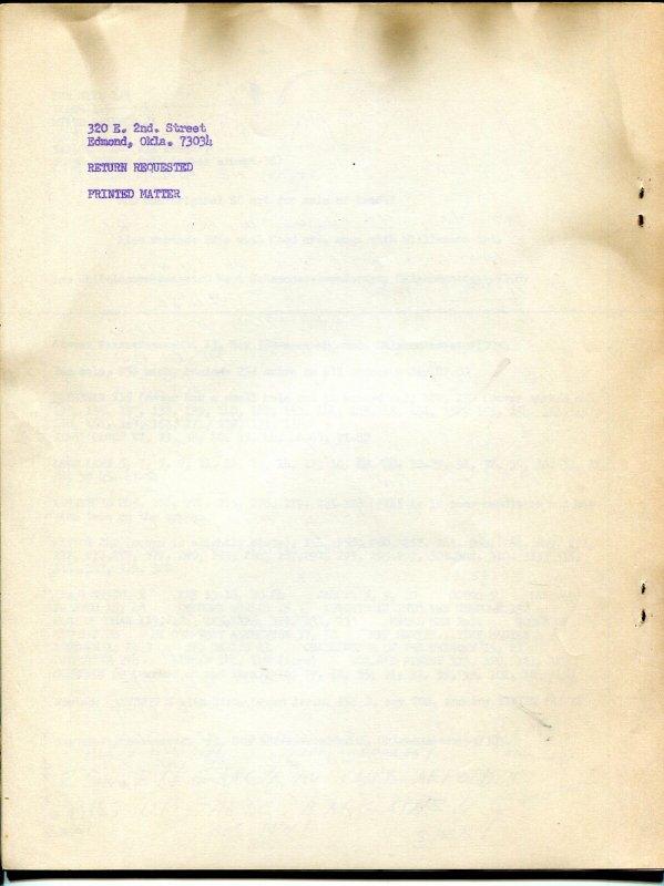 MasterMind #2 1964-mimeo zine-early superhero fanzine-Seuling-McSpadden-VG/FN