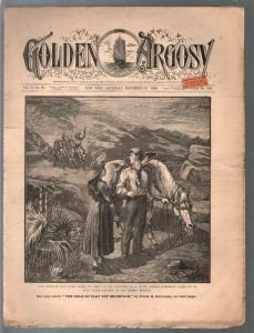 Golden Argosy #310 11/10/1888-Munsey-Argosy precursor-Frank H Converse-VG